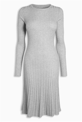Fluted Rib Dress £32