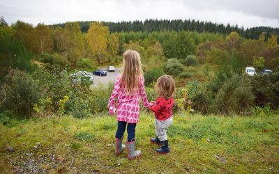 Kids Fashion: An Autumn Walk with Me&I and Fulton Umbrellas