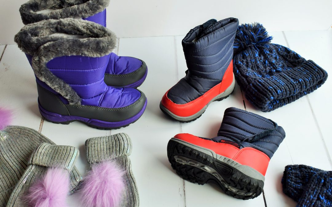 Kids Fashion: Snow Boots & Thick Coats for the First Winter Snow