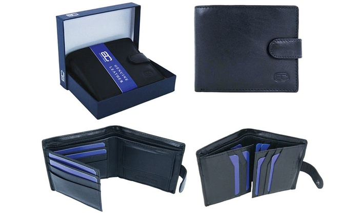 groupon gifts for him leather wallet