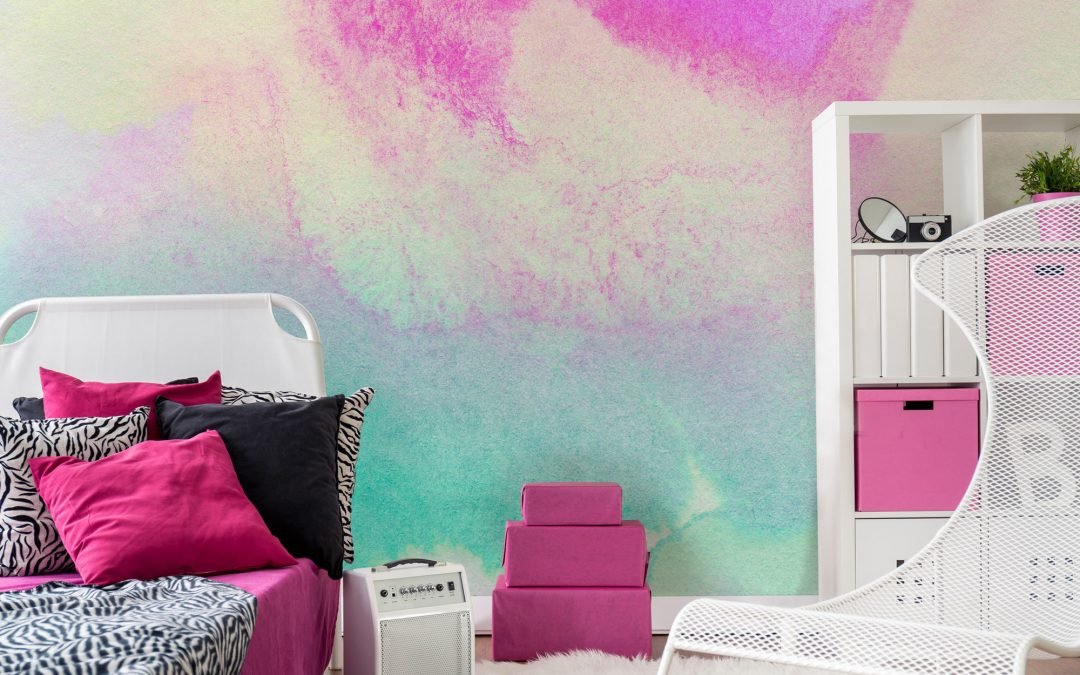 Five Ways to Create a Colourful Feature Wall