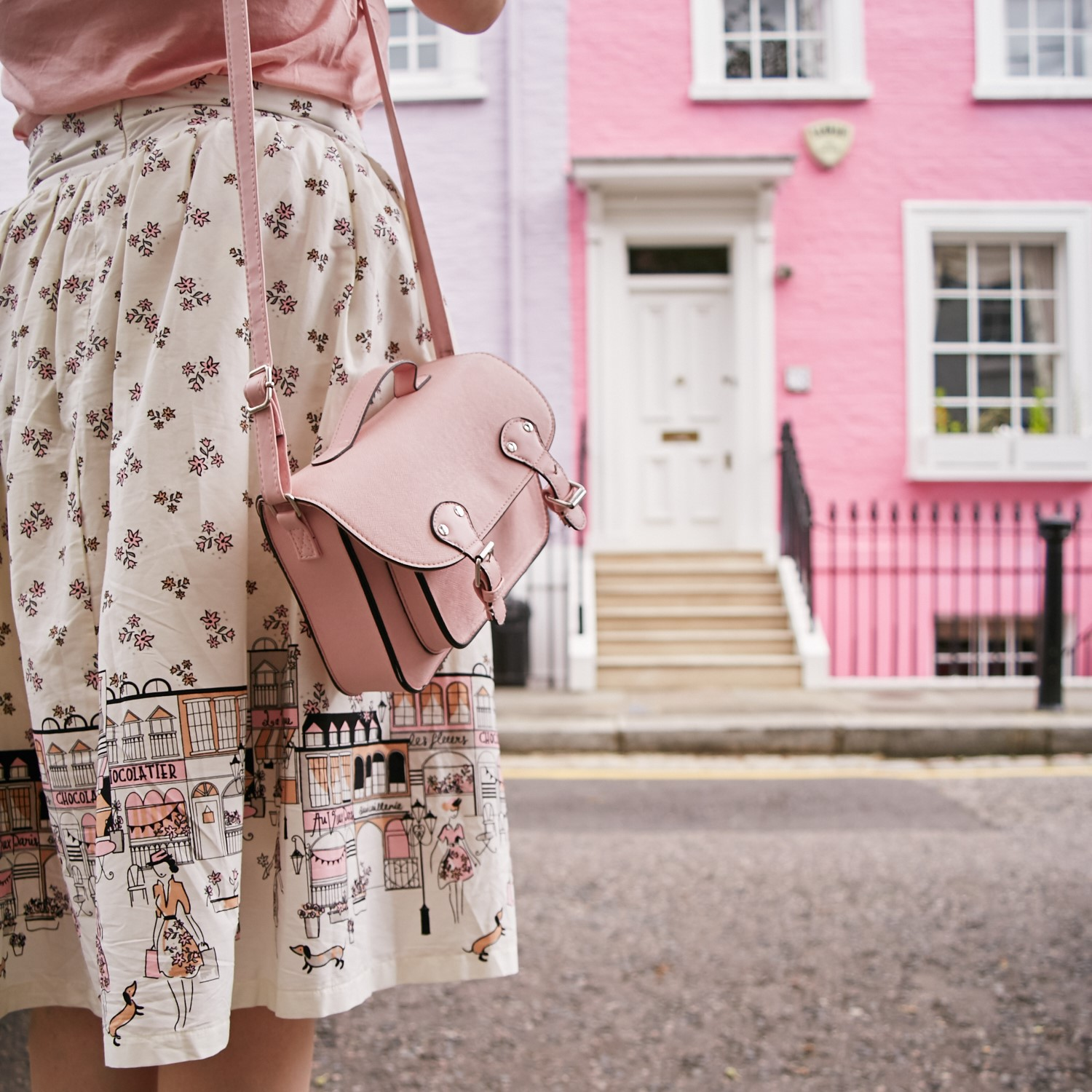 tips for shopping second hand pink satchel vinted app